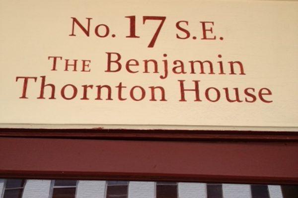 Benjamin Thronton House