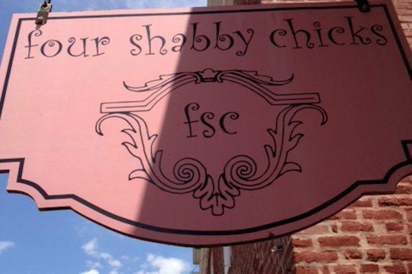 Four Shabby Chicks