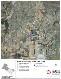 Loudoun County Greenfield Sites