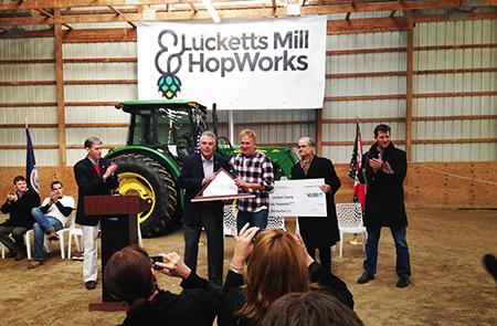 Mid-Atlantic's First Hops Processing Facility Opens at Black Hops Farm
