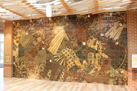 Details - Joan Gardiner Tile Project at Ida Lee