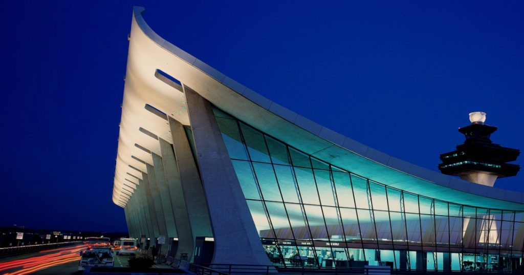 Dulles Airport Terminal Expanded to Full Capacity