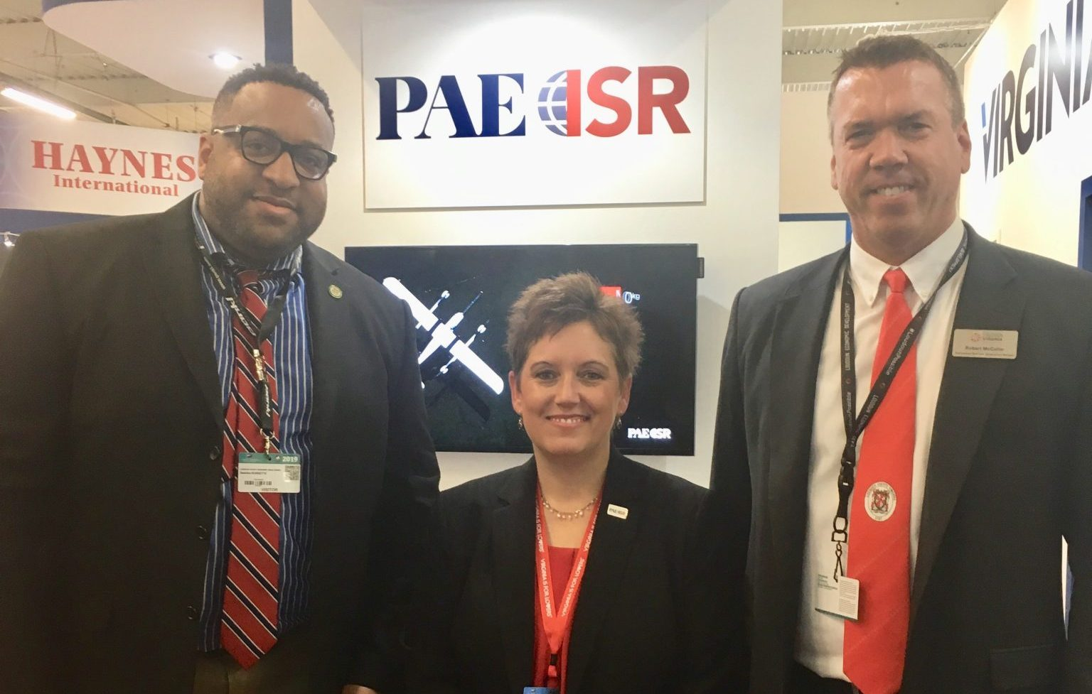 PAE ISR Beth Beach, valet program, vedp paris air show 2019