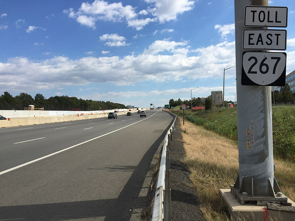 Dulles Toll Road Rt. 267 Loudoun County