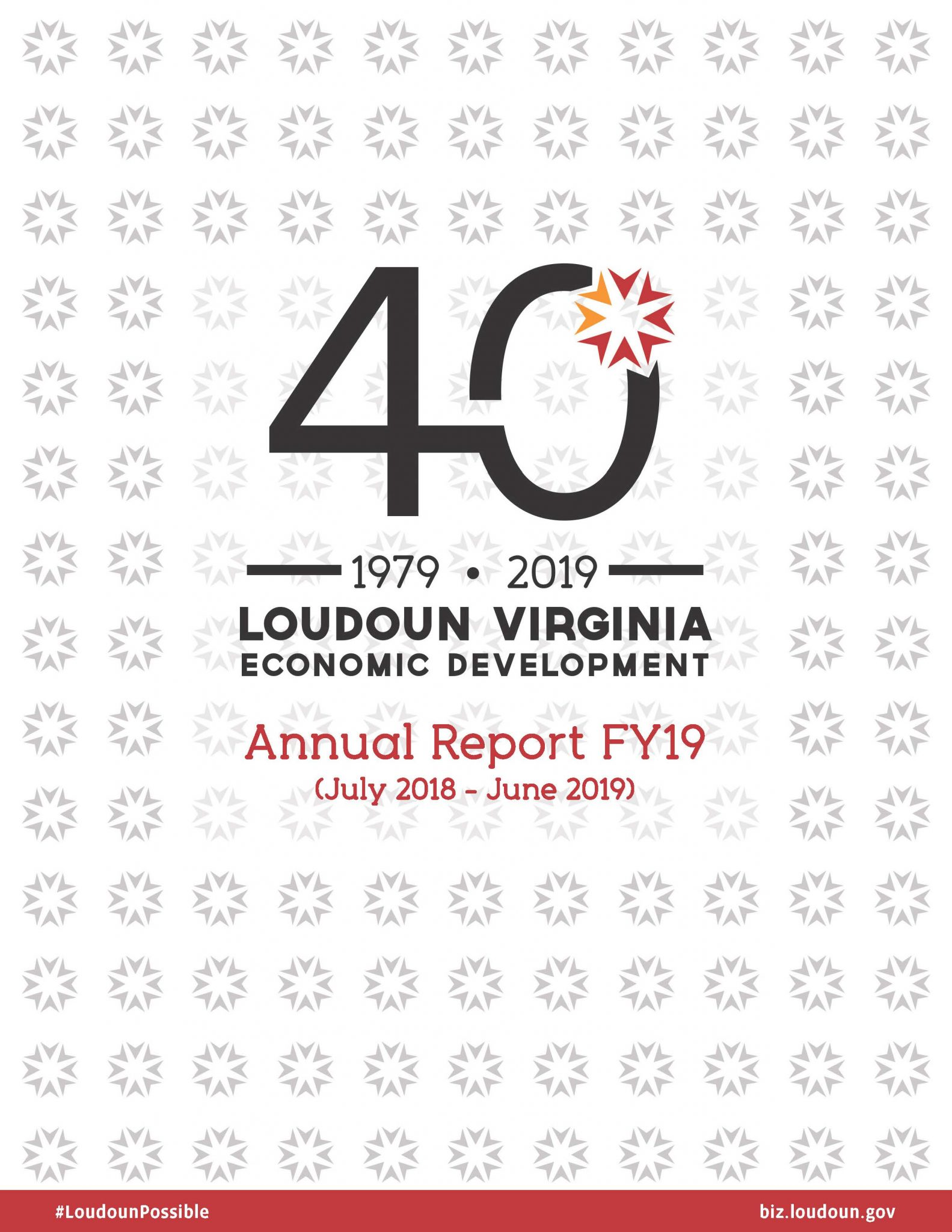 FY 2019 Loudoun Economic Development Annual Report Cover