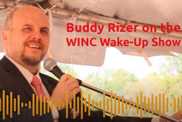 Buddy Rizer WINC-FM Wake-Up Show